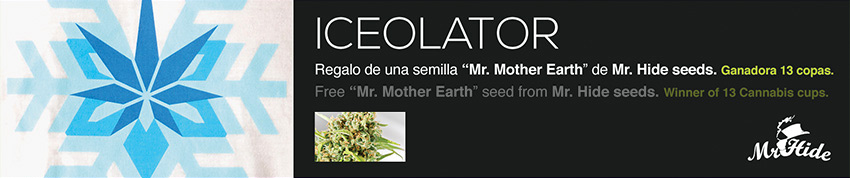 Iceolator 710 extraction weed 420 promotion seed seeds