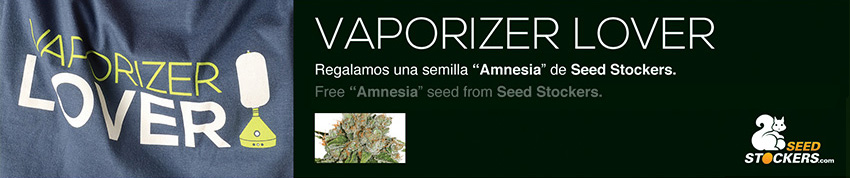 VAPORIZER PROMOTION VOLCANO amnesia seeds stockers